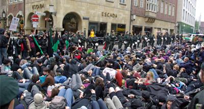 14. Juni 2008 - Tierrechts-Demo in Münster