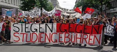 17.Juni 2008 - Studentendemo - Düsseldorf