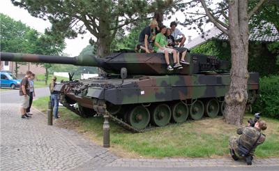 Bw-Olympix 2008 - Warendorf - 30.Juni 2008 - Leopard2 Panzer