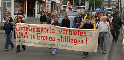 4. Juni 2008 - Anti-Atom-Demo - Münster