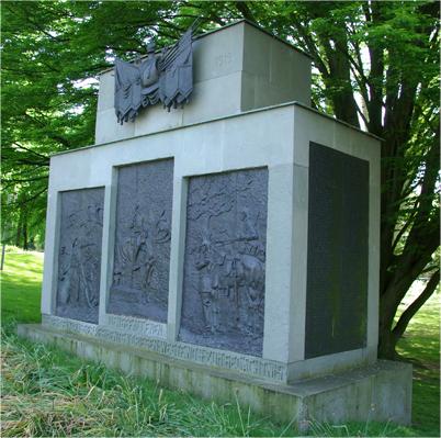 Kriegsdenkmal an der Aegidiischanze in Münster (NRW)